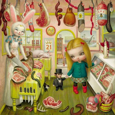 The_Butcher_Bunny_Mark_Ryden