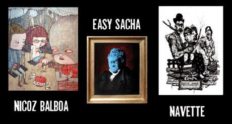 Nicoz Balboa, Easy Sacha et Navette