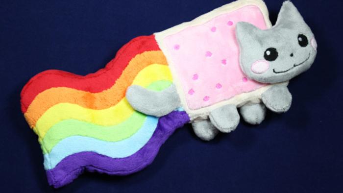 Peluche Nyan Cat