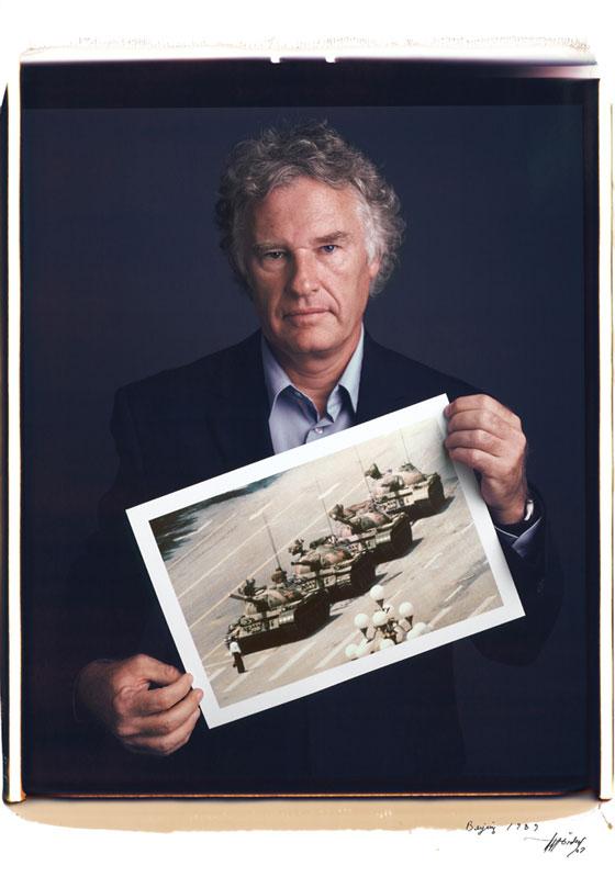 Jeff Widener - Tank Man in Tienanmen Square from 1989.