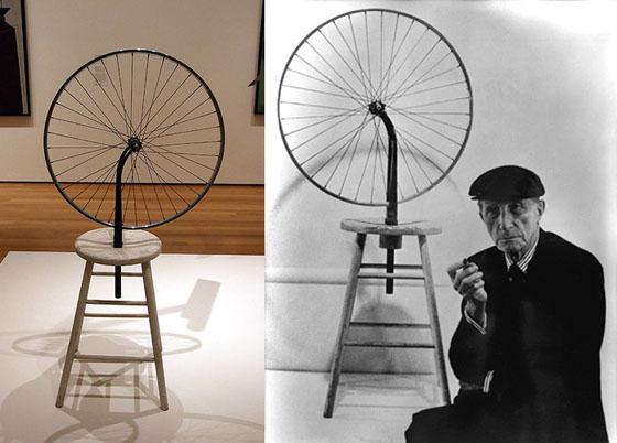 Marcel Duchamp - Bicyclette