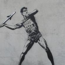 Banksy aux Jeux Olympiques de Londres 2012