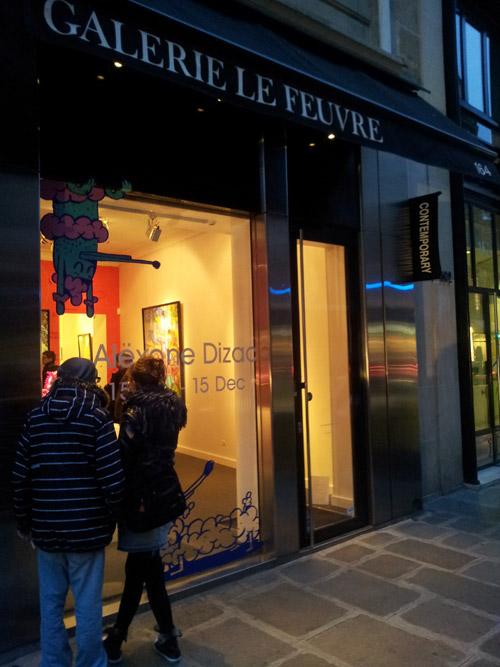 Galerie Le Feuvre - Alacrité