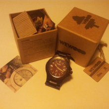 Montre en bois - We Wood