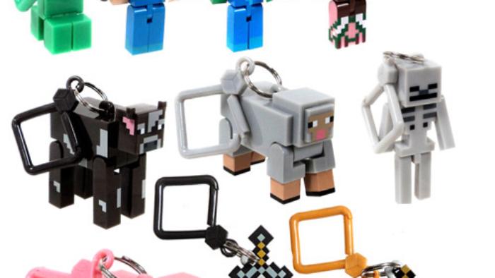 Porte-clefs Minecraft